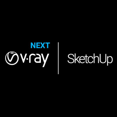 V-RAY-next-SKETCH-UP Architectural design software