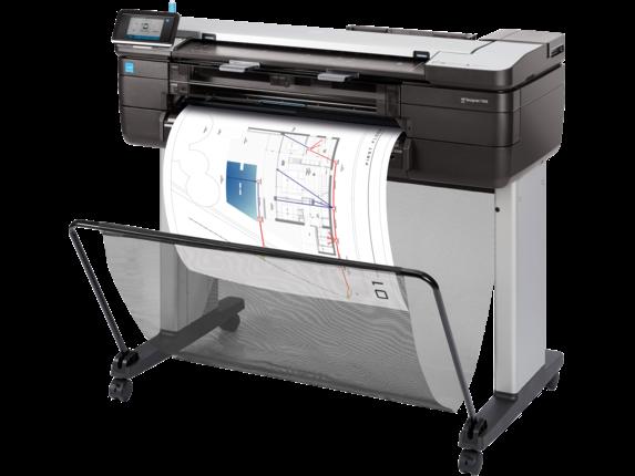 HP DesignJet T830 24in MFP Printer Plotter