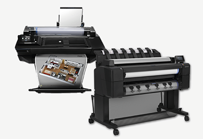 HP Designjet printer Plotters